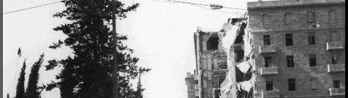 The Bombing of the King David Hotel by Jewish Terrorists in 1946